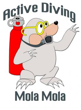 Logo Duikcentrum Active Diving MolaMola